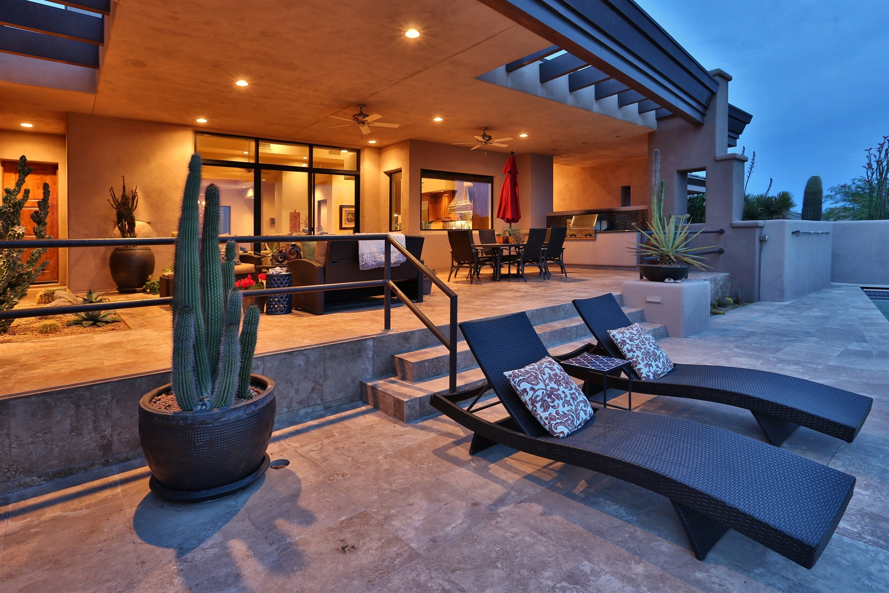 sales property at Contemporary south facing home in Desert Mountain