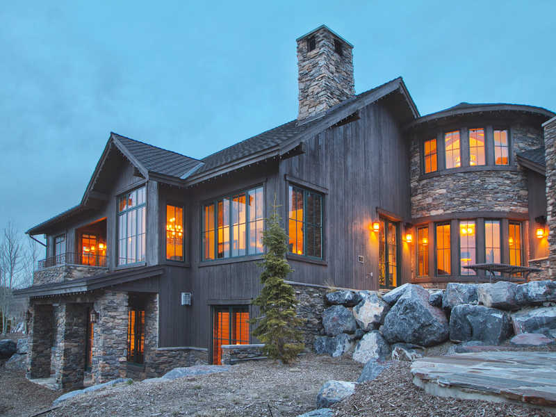 Single Family Home for Sale at Magnificent Promontory Ranch Club Cabin with Deer Valley and Park City Views 3359 Tatanka Trl Park City, Utah 84098 United States