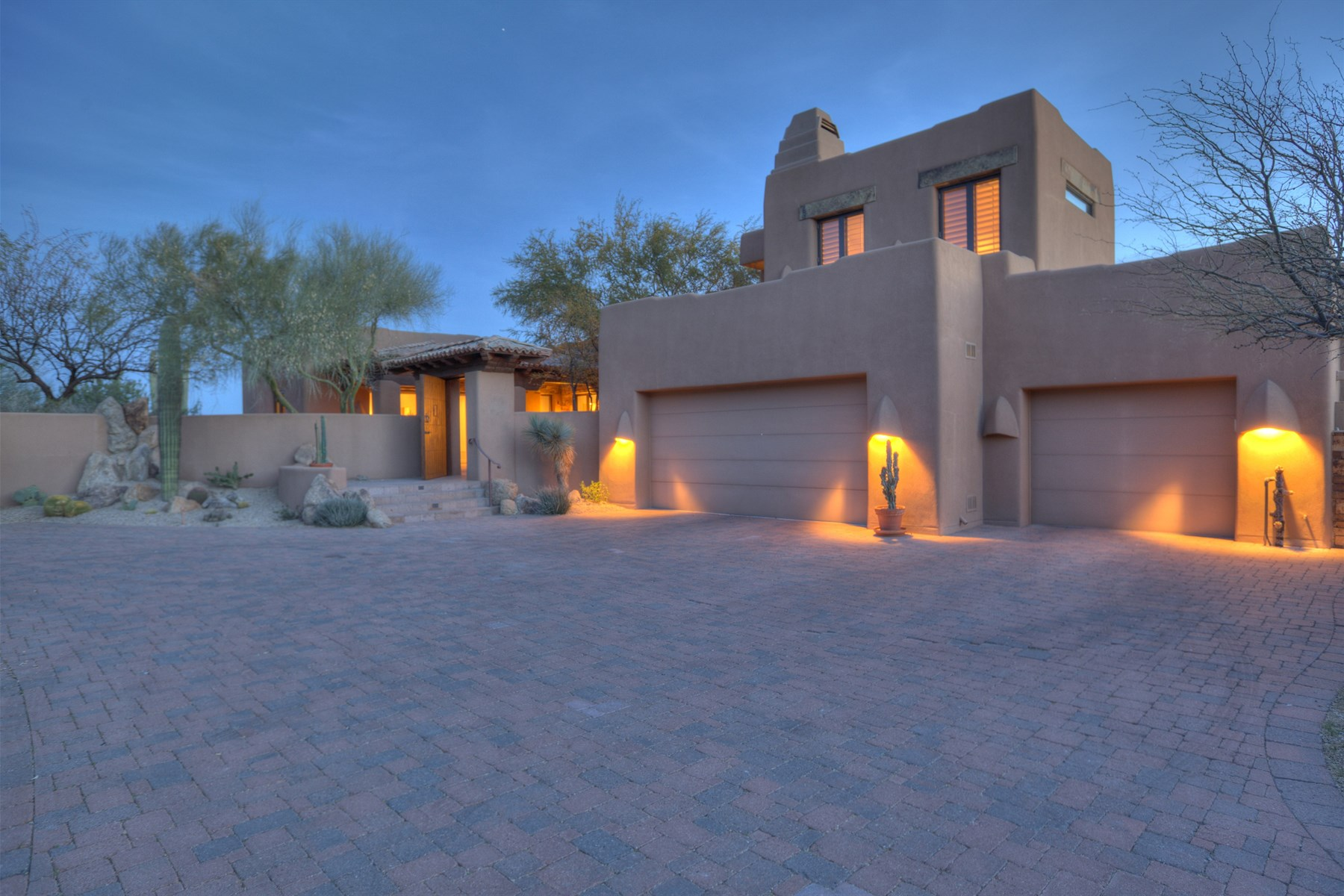 sales property at Luxurious Santa Fe Style Custom Home in Desert Mountain