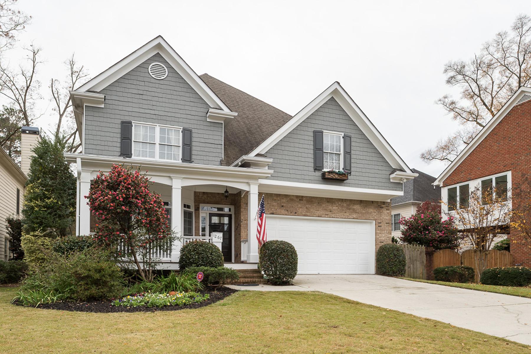 Casa Unifamiliar por un Venta en Beautiful Two Story Home In Brookhaven 1267 Kendrick Road NE Brookhaven, Atlanta, Georgia 30319 Estados Unidos