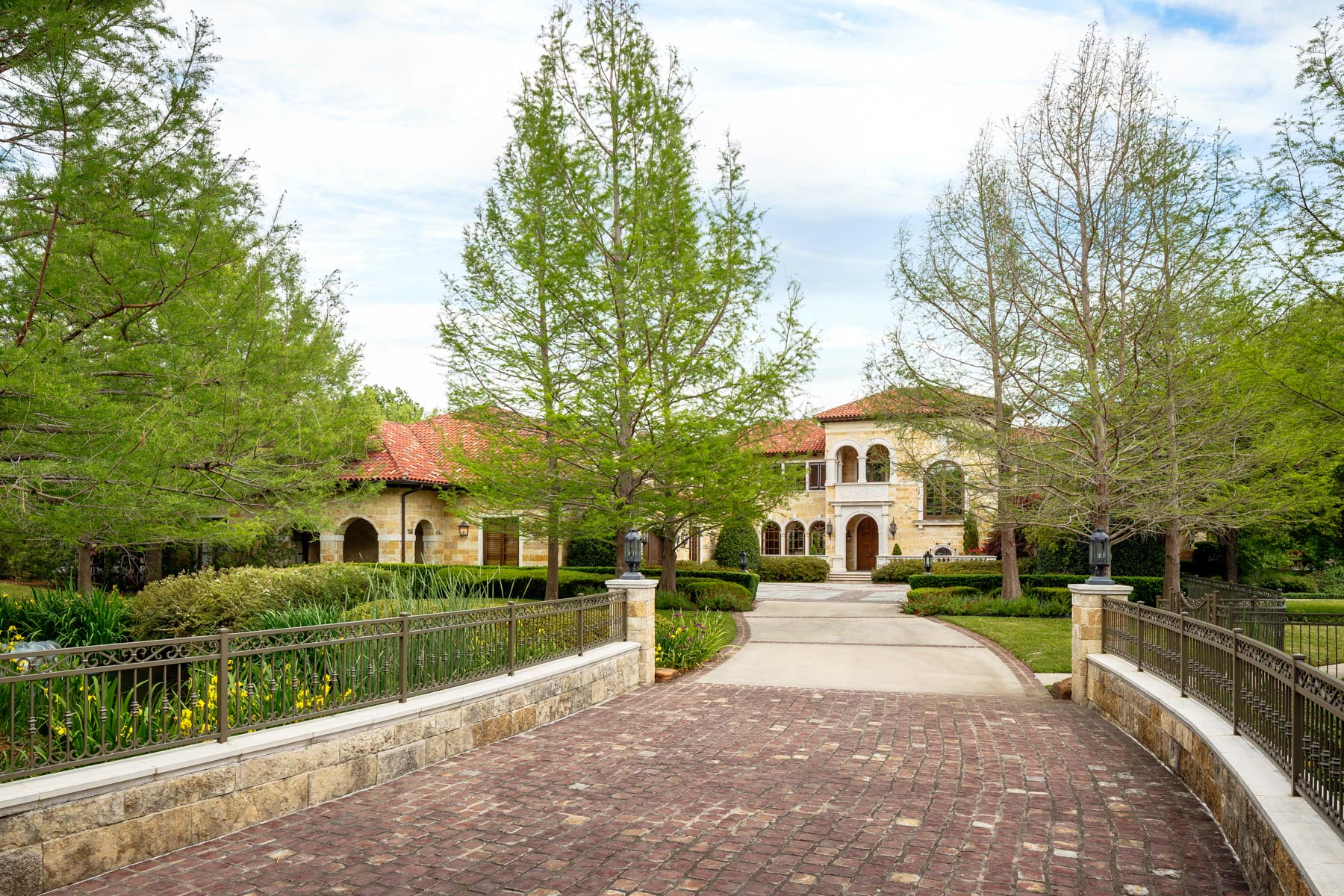 Single Family Home for Sale at Exquisite Tuscan Estate 10620 Strait Lane Dallas, Texas, 75229 United States
