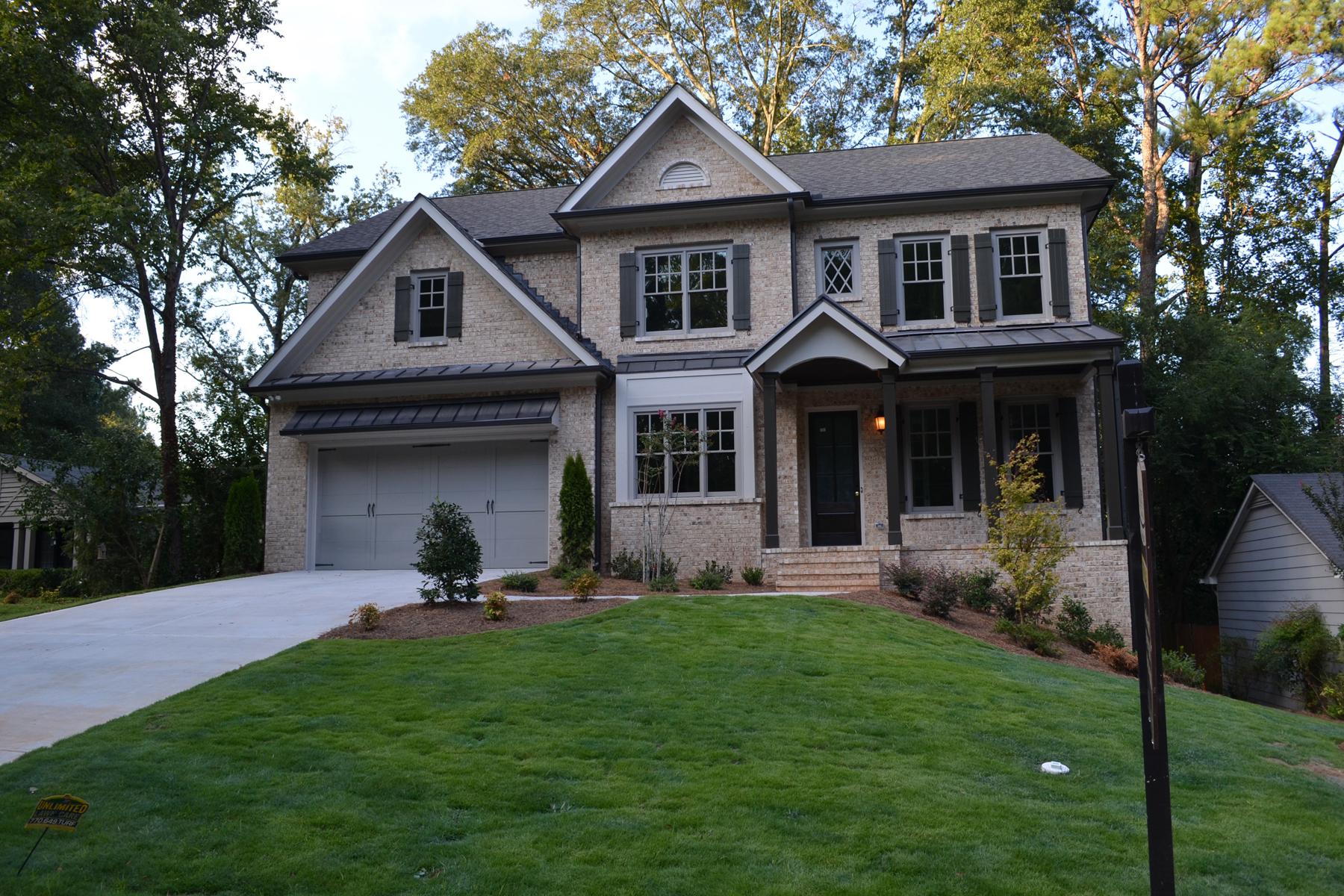 Casa para uma família para Venda às Beautiful new construction in the heart of Buckhead! 1775 Warren Court NW Atlanta, Geórgia, 30318 Estados Unidos
