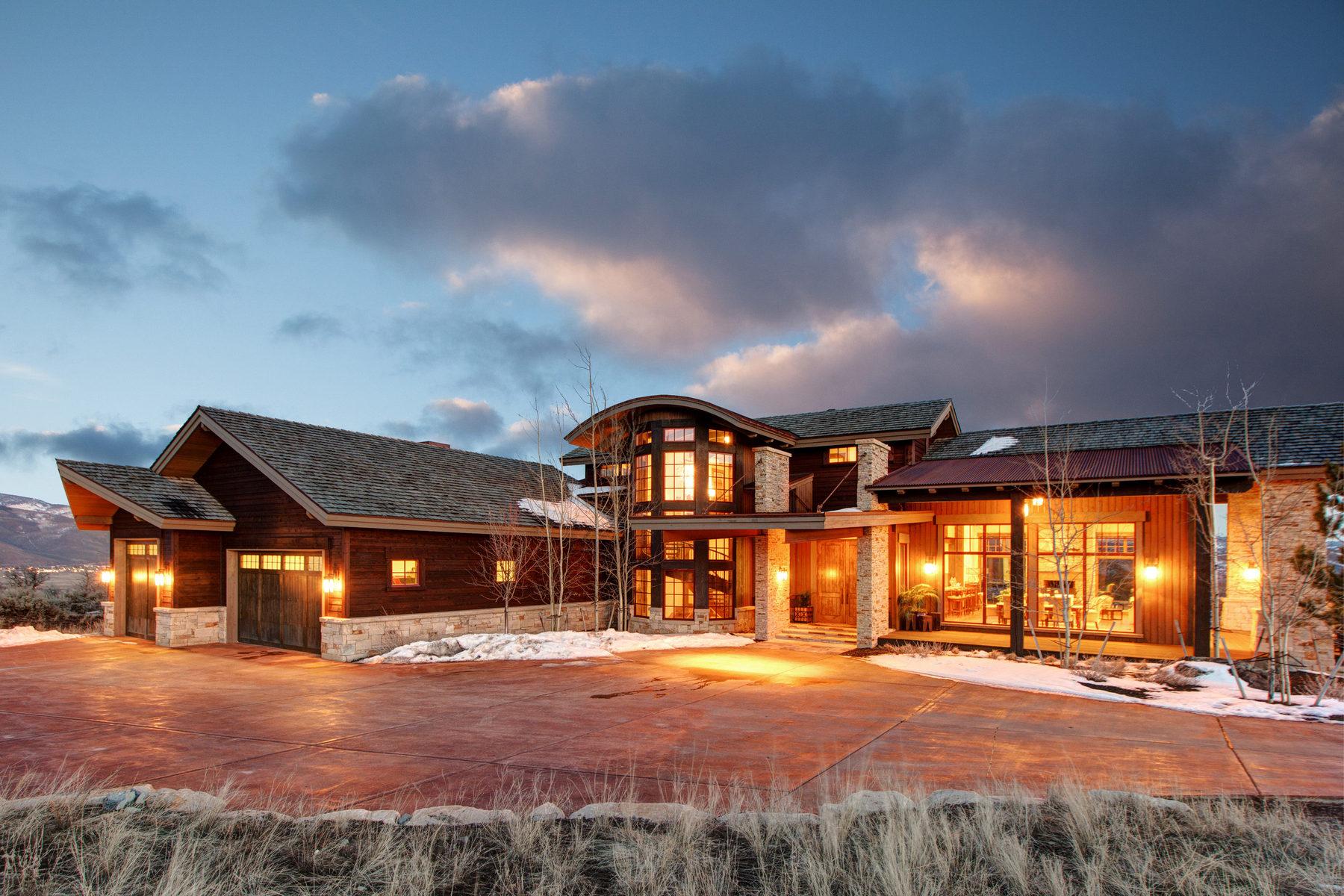 Nhà ở một gia đình vì Bán tại Crown Jewel of Tuhaye 3595 Ridgeway Dr Kamas, Utah 84036 Hoa Kỳ