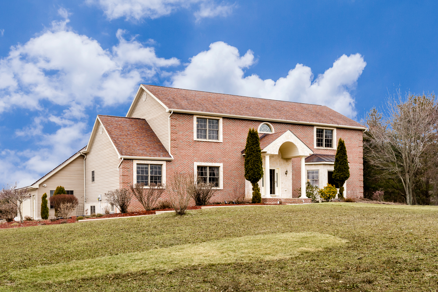 sales property at Elegant and Energy-Efficient on 6+ Idyllic Acres - Montgomery Township