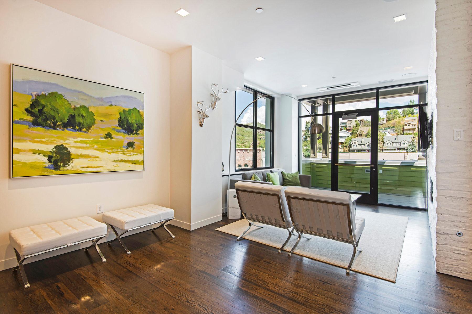 콘도미니엄 용 매매 에 The Parkite Luxury Condominiums in Park City 333 Main St #21 Park City, 유타 84060 미국