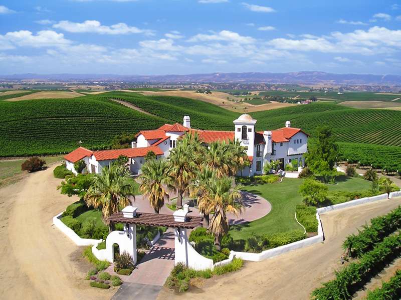 Property For Sale at 162 Acre Vineyard In Paso Robles Wine Country + Spanish Style Estate