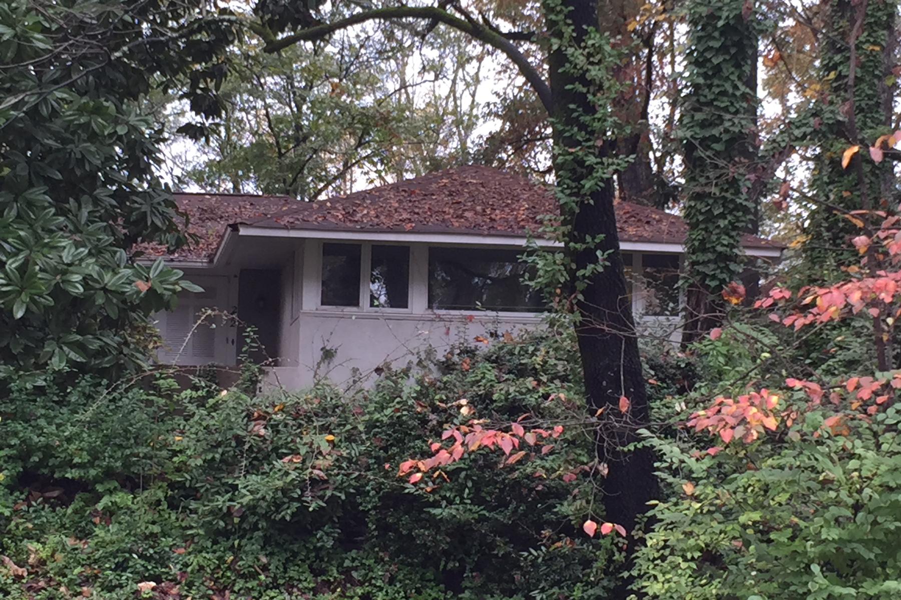 獨棟家庭住宅 為 出售 在 Ansley Park Rehab Or Lot 252 Beverly Road Ansley Park, Atlanta, 喬治亞州 30309 美國