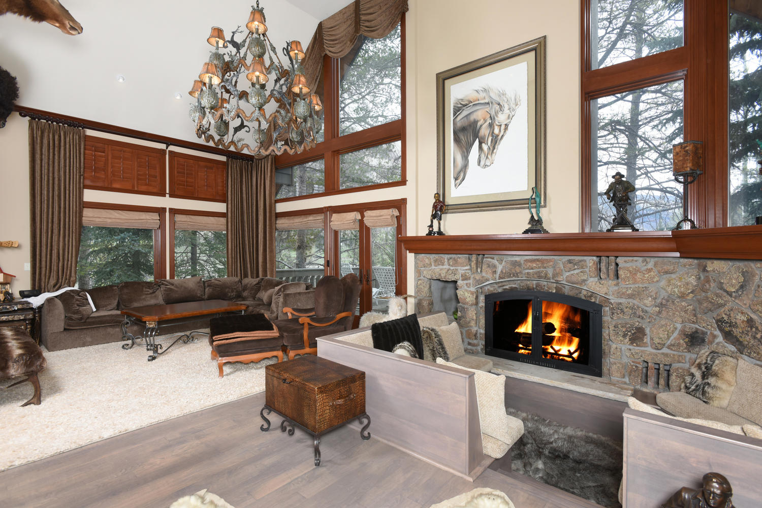 Single Family Home for Sale at 1055 Homestake Circle Vail Golf Course, Vail, Colorado, 81657 United States