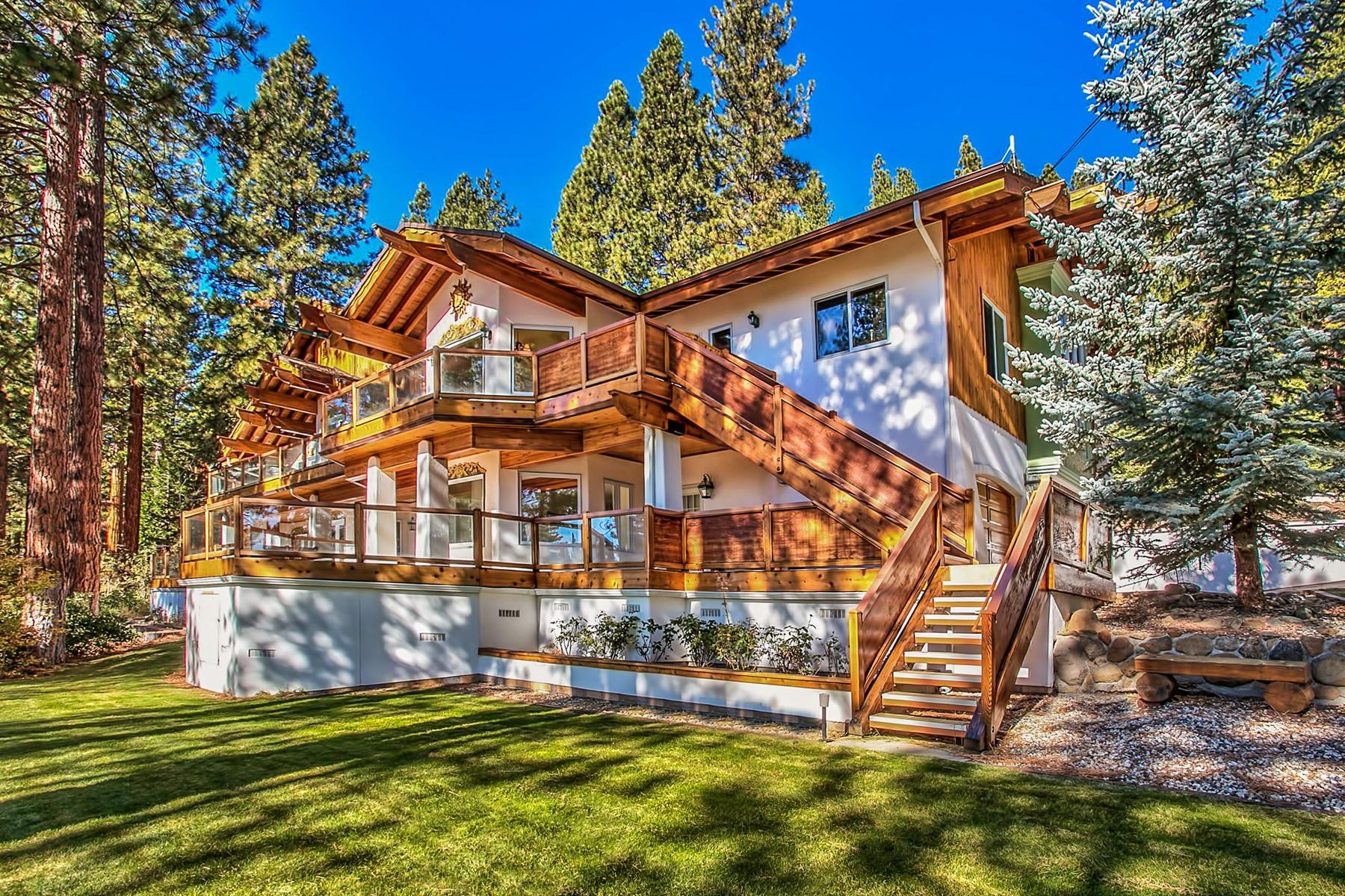 Maison unifamiliale pour l Vente à 537 Ponderosa Avenue Incline Village, Nevada, 89451 États-Unis