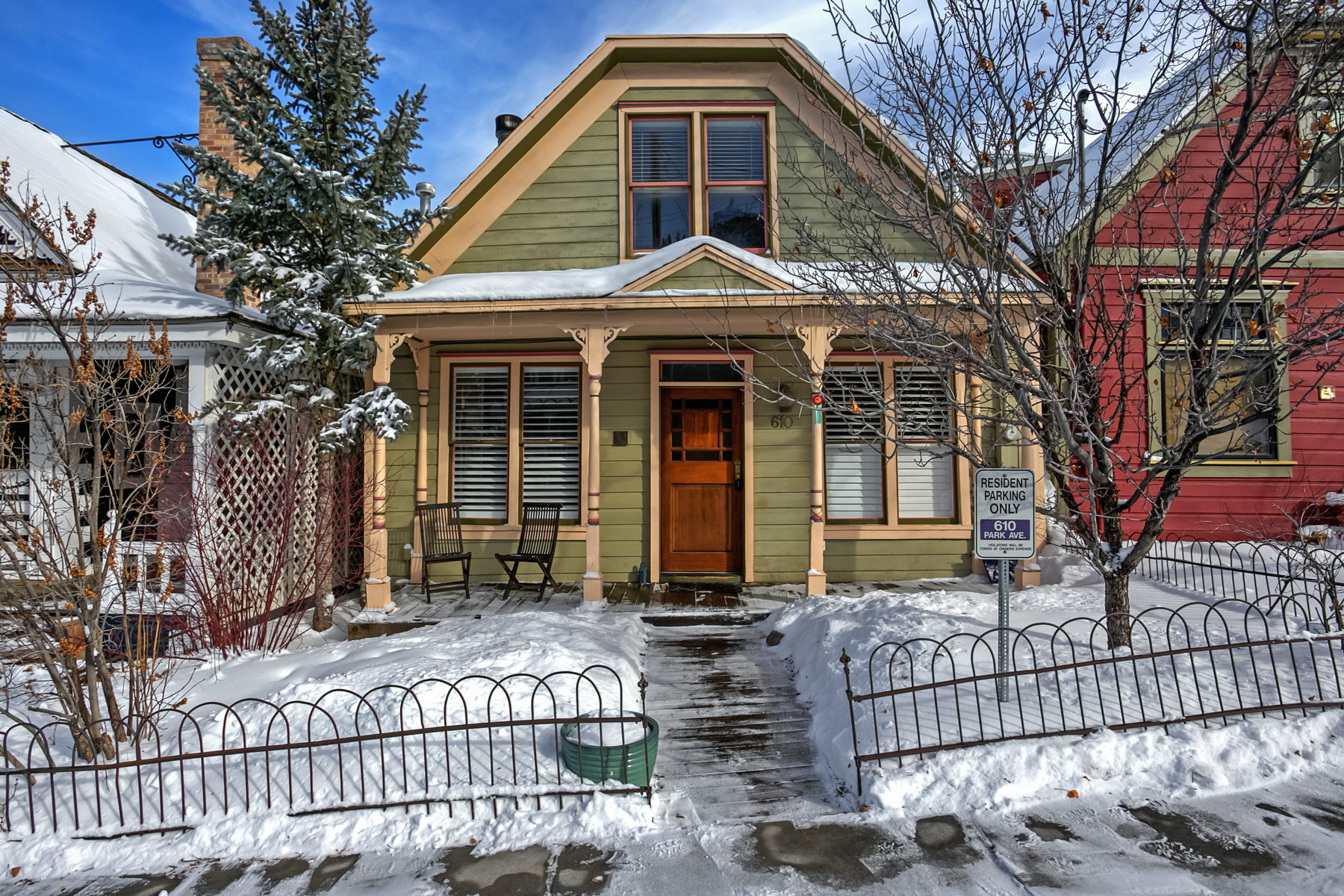 sales property at Historic 4-bedroom Home Just Steps From Main Street and Ski Lift