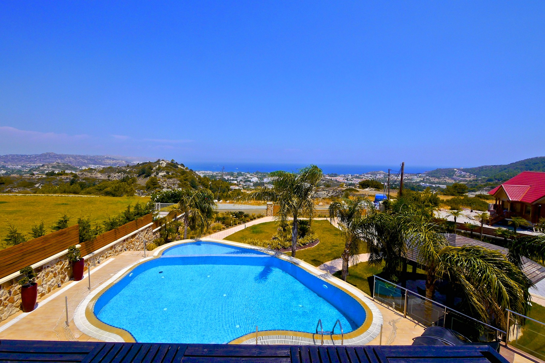 獨棟家庭住宅 為 出售 在 Private Retreat Kallithea, Rhodes, Dodecanese, Aegean Rhodes, 愛海琴南部 85100 希臘