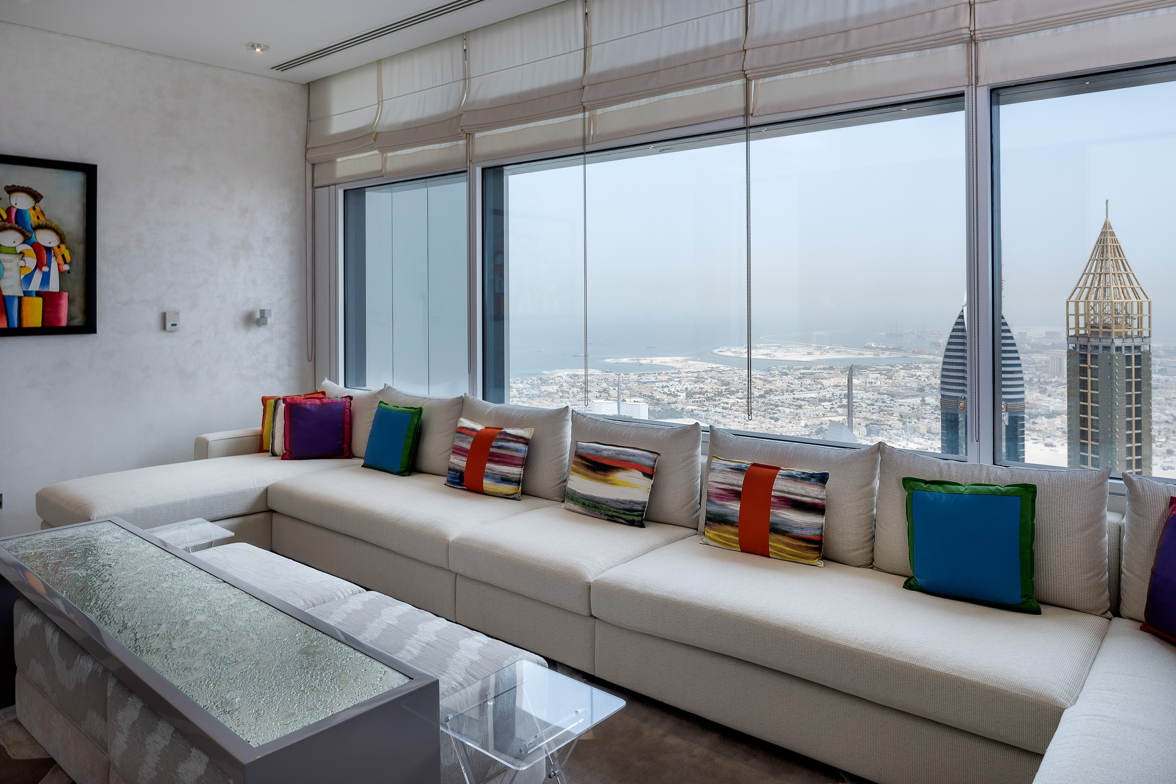 아파트 용 매매 에 Penthouse Overlooking the DIFC Skyline Dubai, 아랍에미리트