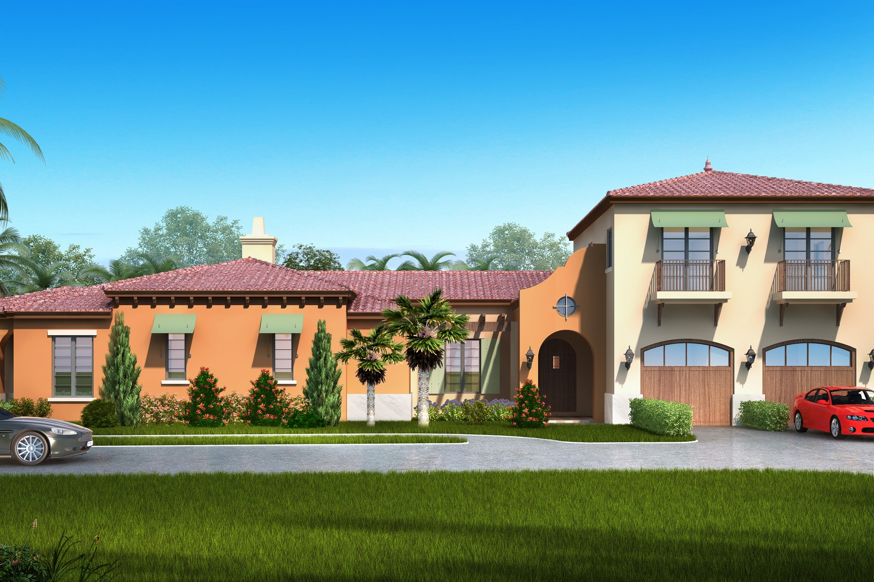 Vivienda unifamiliar por un Venta en To be Constructed Savvy courtyard home 184 Whaler Drive Melbourne Beach, Florida, 32951 Estados Unidos