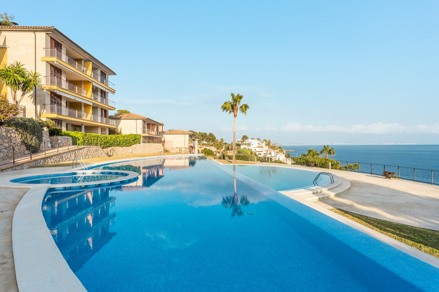 Apartment for Sale at Luxurious seafront penthouse in Sol de Mallorca Sol De Mallorca, Mallorca, 07180 Spain