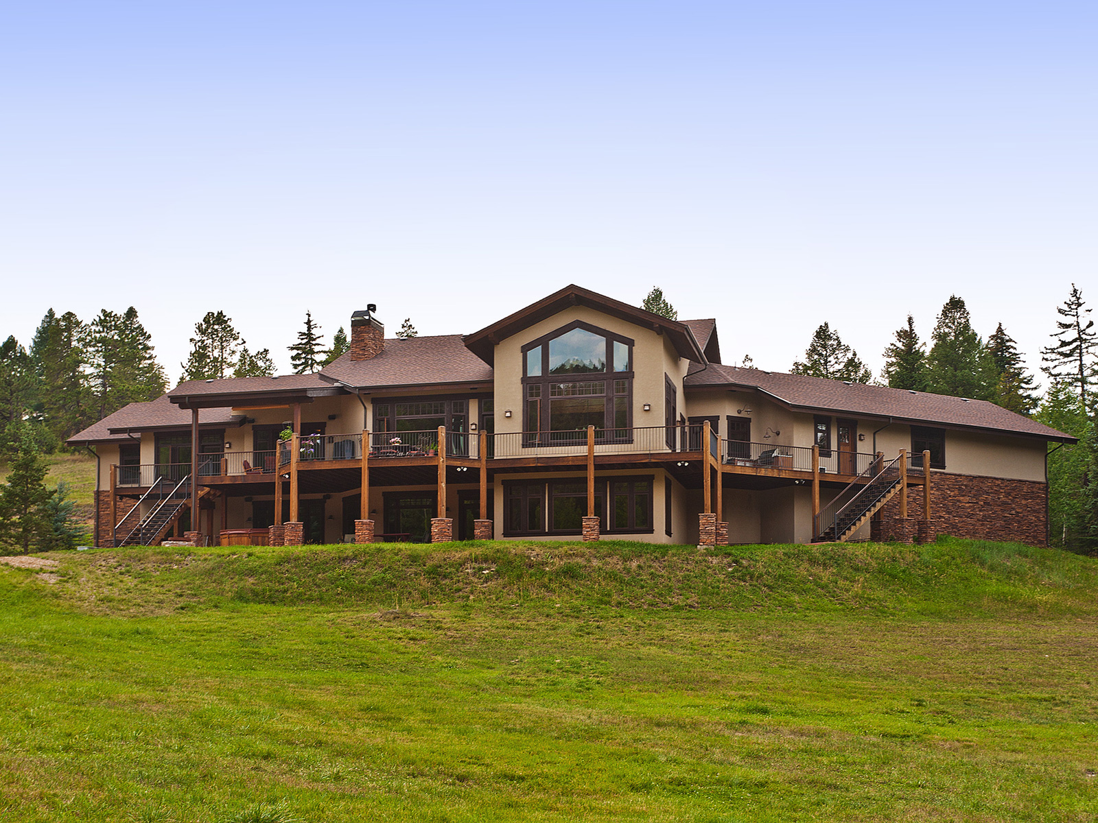 Maison unifamiliale pour l Vente à Soda Creek 1078 Soda Creek Drive Evergreen, Colorado 80439 États-Unis