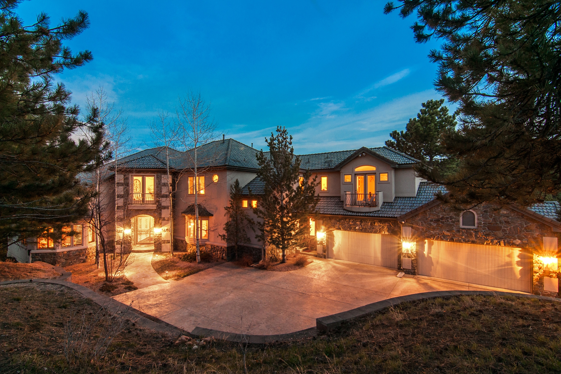 Single Family Home for Sale at Modern Mountain Luxury 22554 Treetop Lane Golden, Colorado 80401 United States