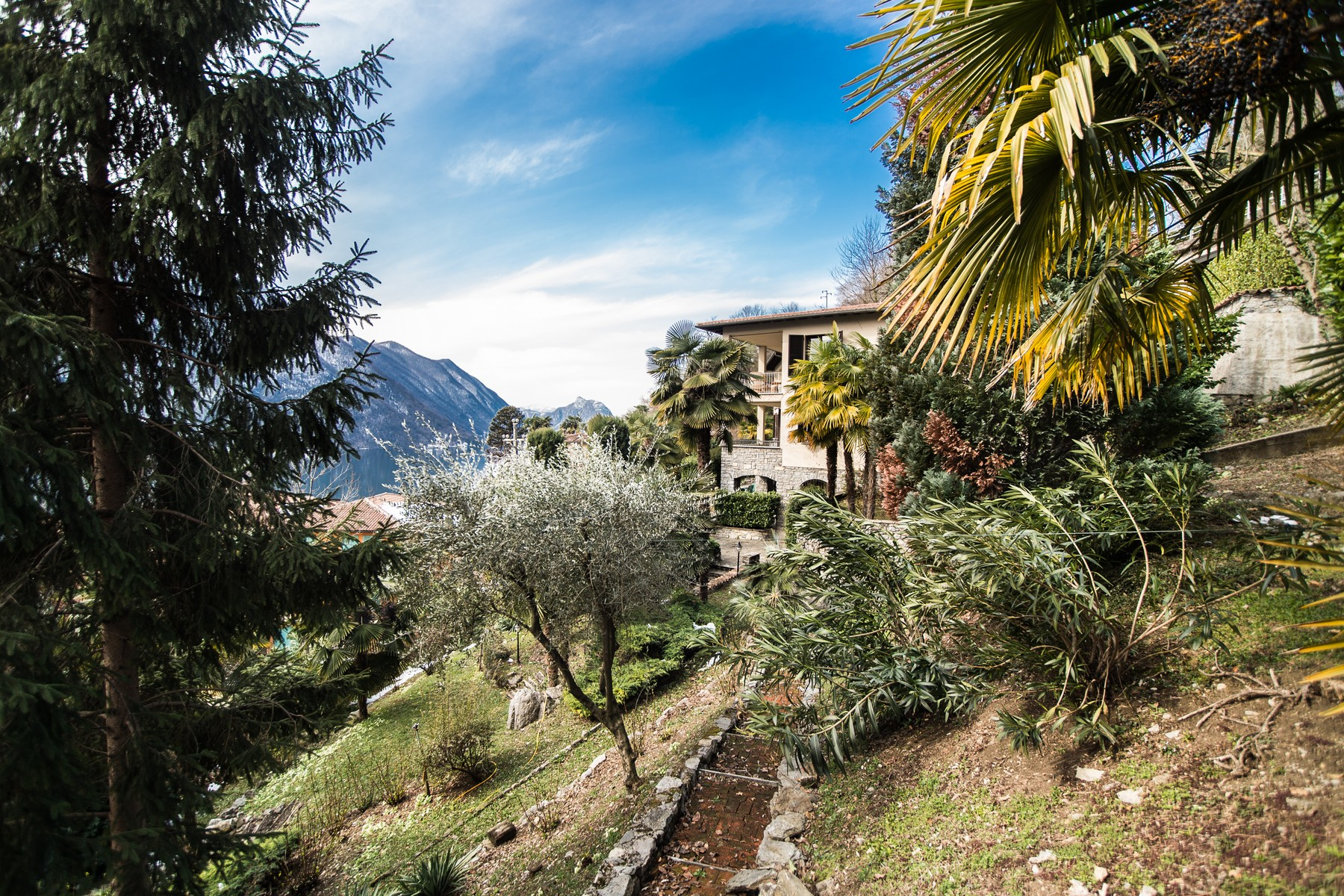 Additional photo for property listing at Prestigious villa on Lake Lugano Via G. Finali Valsolda, Como 22010 Italy
