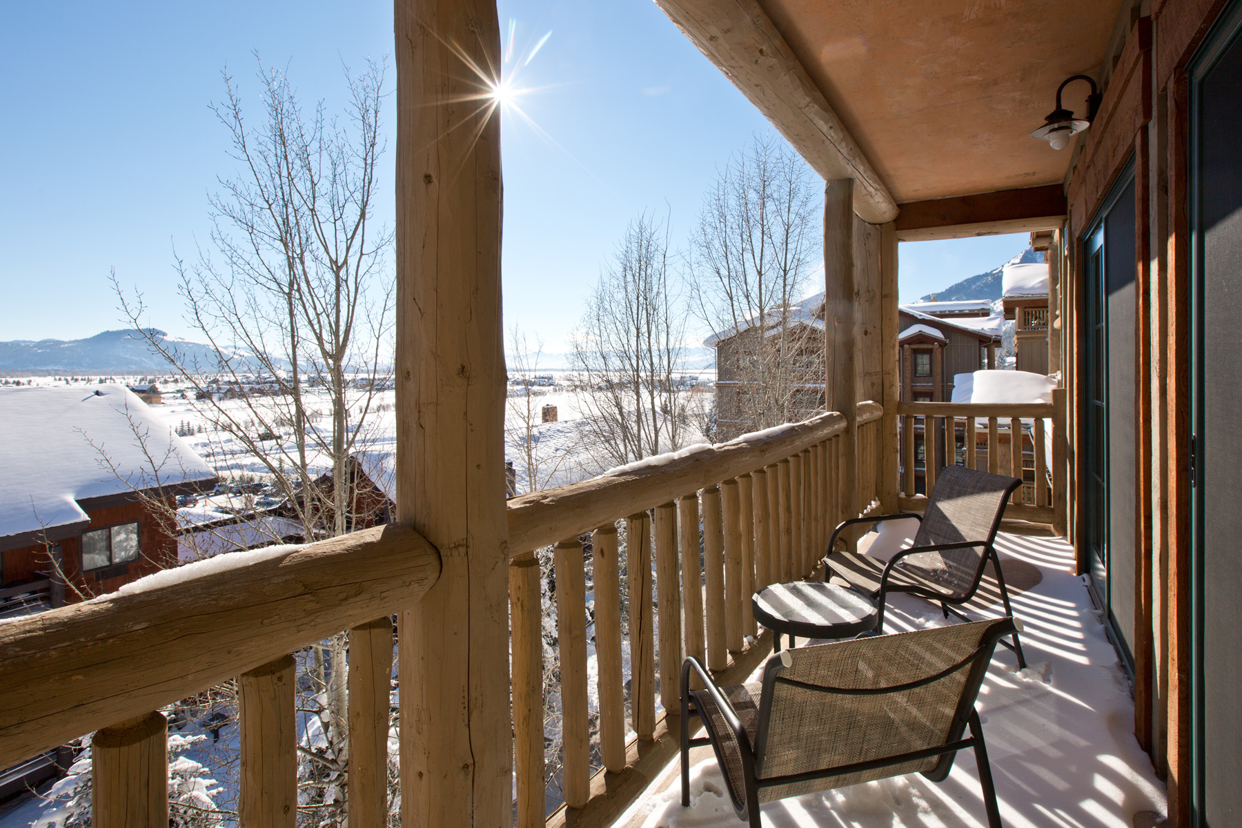sales property at 2 bdrm/ 2 bath condo in Teton Village