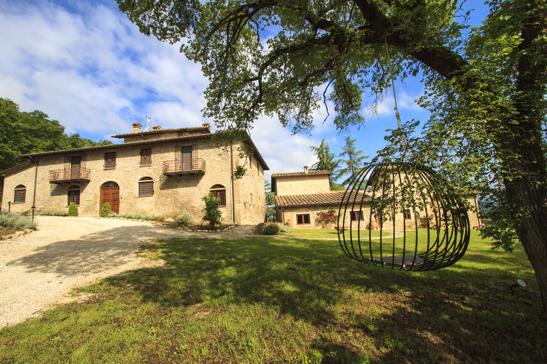 Single Family Home for Sale at Lovely country house with pool between Umbria and Tuscany Citerna, Italy
