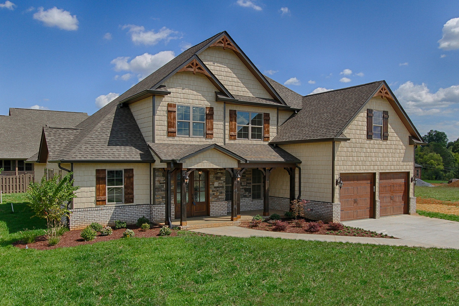 단독 가정 주택 용 매매 에 New Construction in Holland Springs 128 Stone Drive Maryville, 테네시 37803 미국