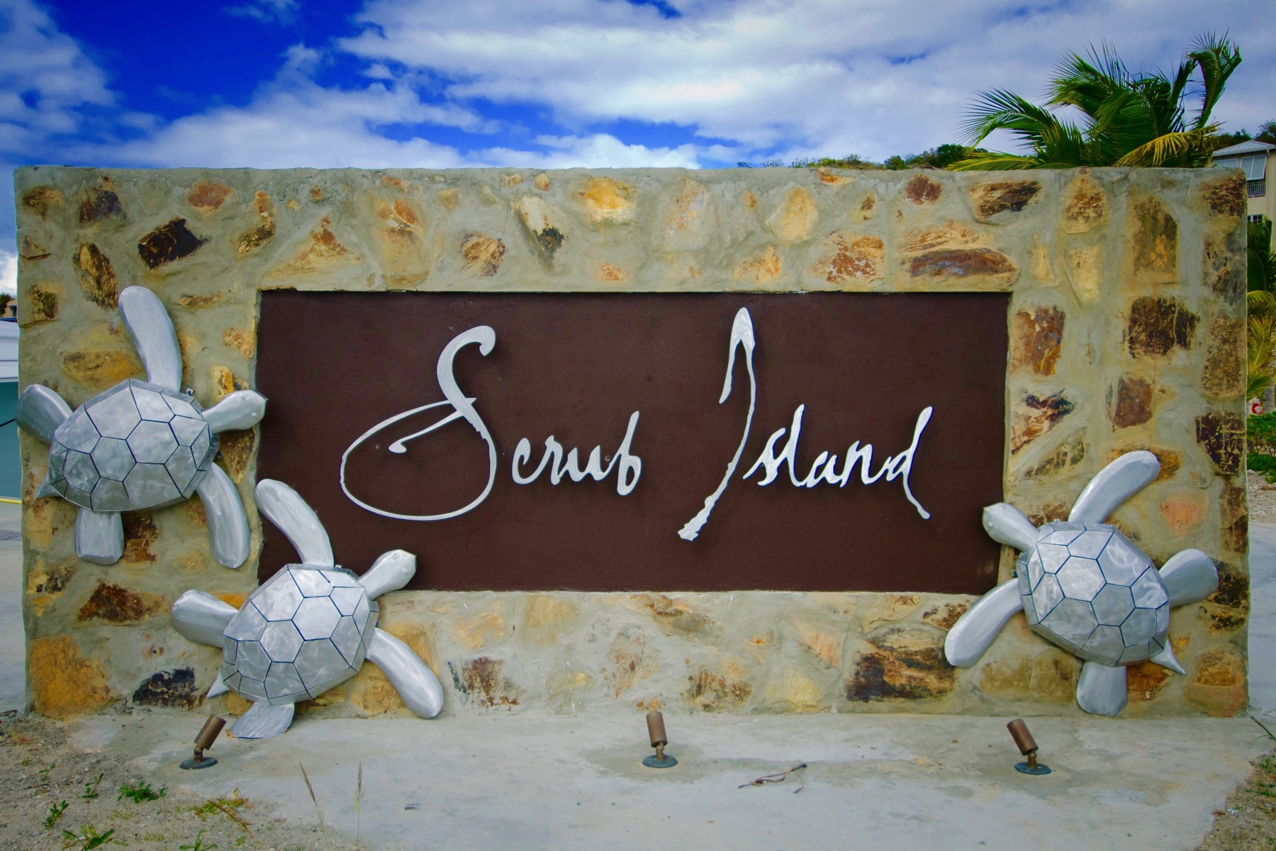 Property Of Ocean View Villa - Scrub Island Development