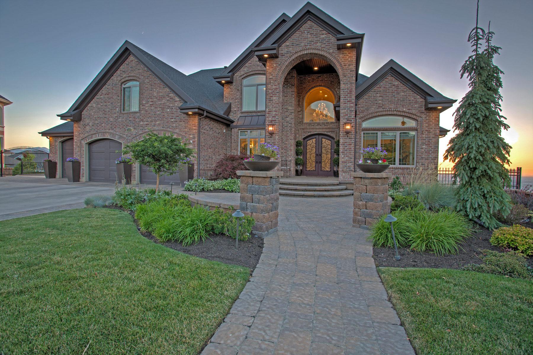 独户住宅 为 销售 在 Corner Canyon Grandeur 14032 S Canyon Vista Ln 德雷帕, 犹他州, 84020 美国