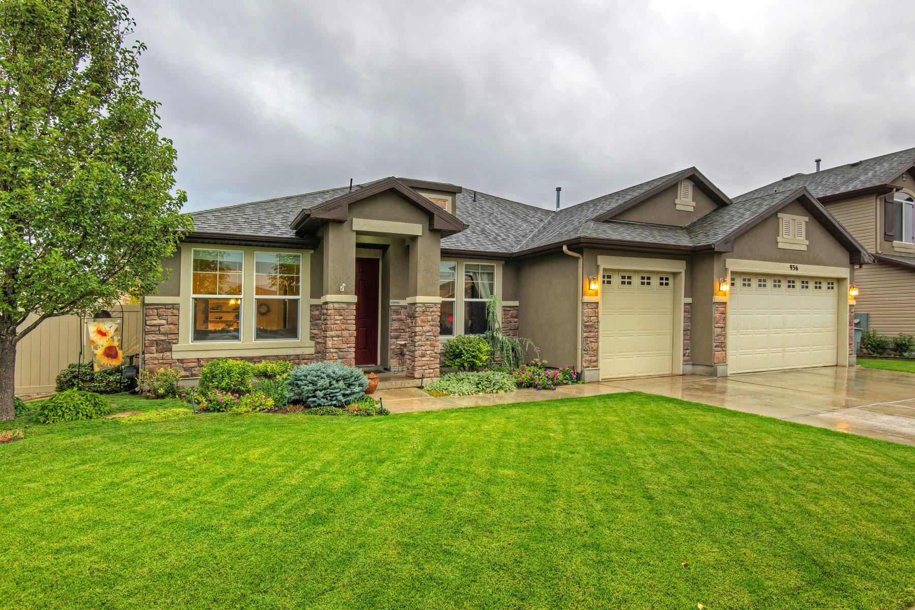 Villa per Vendita alle ore Exquisite Home in Foxboro North 936 N Fox Hollow Dr North Salt Lake, Utah 84054 Stati Uniti