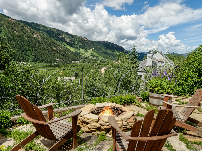 Maison unifamiliale pour l Vente à Panoramic Aspen Views 658 Mountain Laurel Drive East Aspen, Aspen, Colorado 81611 États-Unis