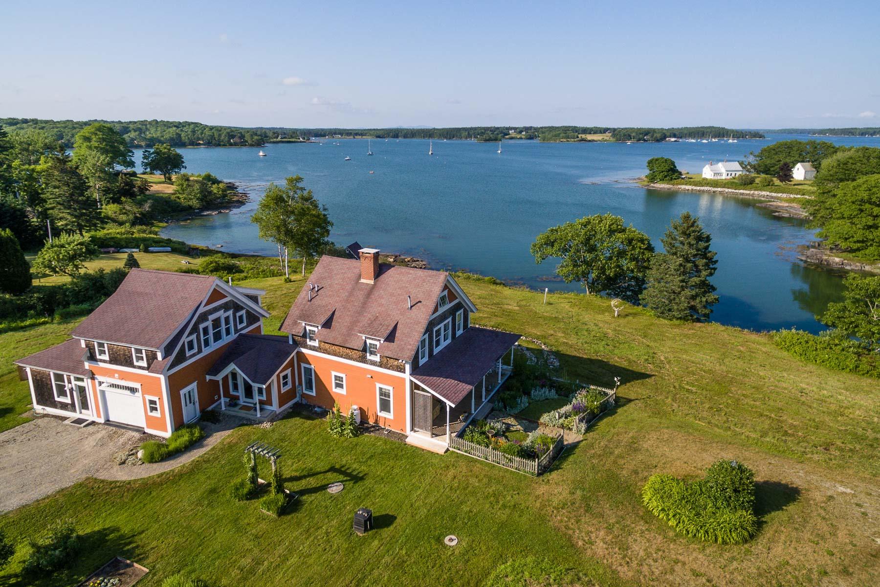 Maison unifamiliale pour l Vente à Windy Corner 6 Henderson Lane Cushing, Maine, 04563 États-Unis