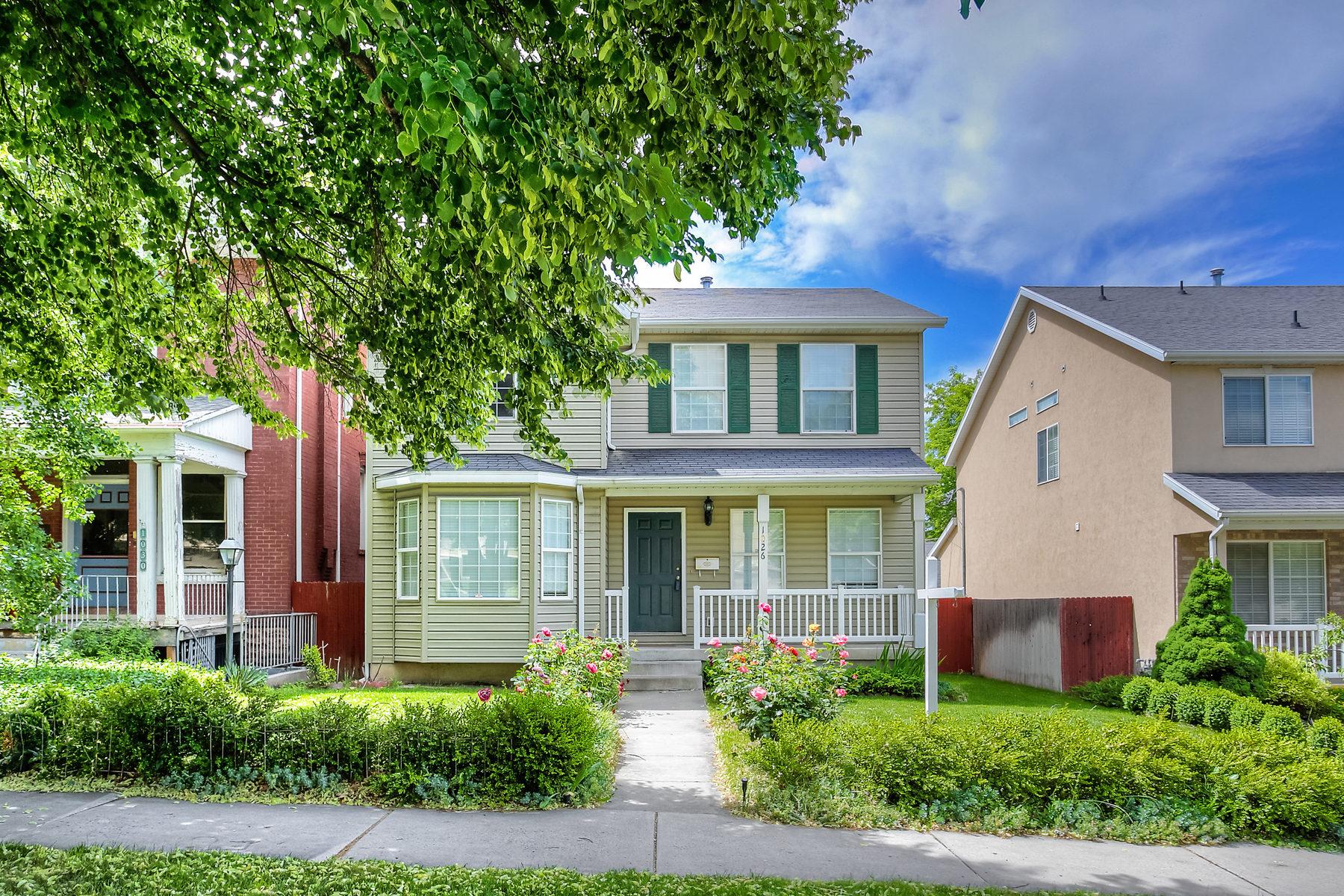 Maison unifamiliale pour l Vente à Cool Central Urban Area 1026 East 100 South Salt Lake City, Utah 84102 États-Unis