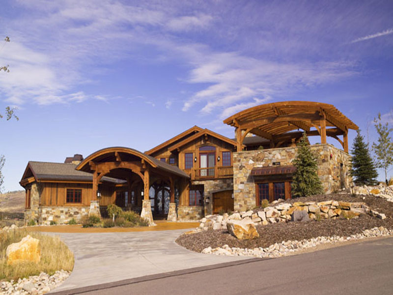 Casa Unifamiliar por un Venta en An Exquisite Mountain Contemporary Home 7881 N West Hills Trail Park City, Utah 84098 Estados Unidos