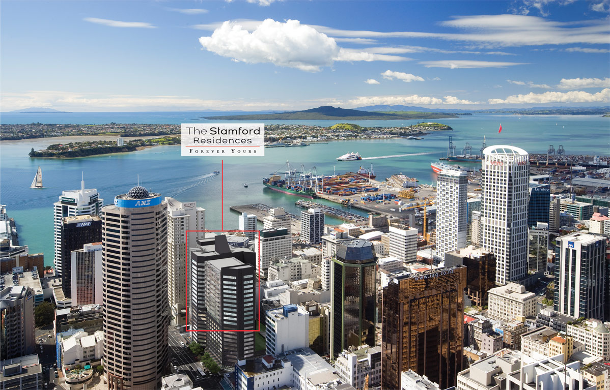 Apartment for Sale at The Stamford Residences 26 Albert Street - Penthouse 2301 Other Auckland, Auckland New Zealand