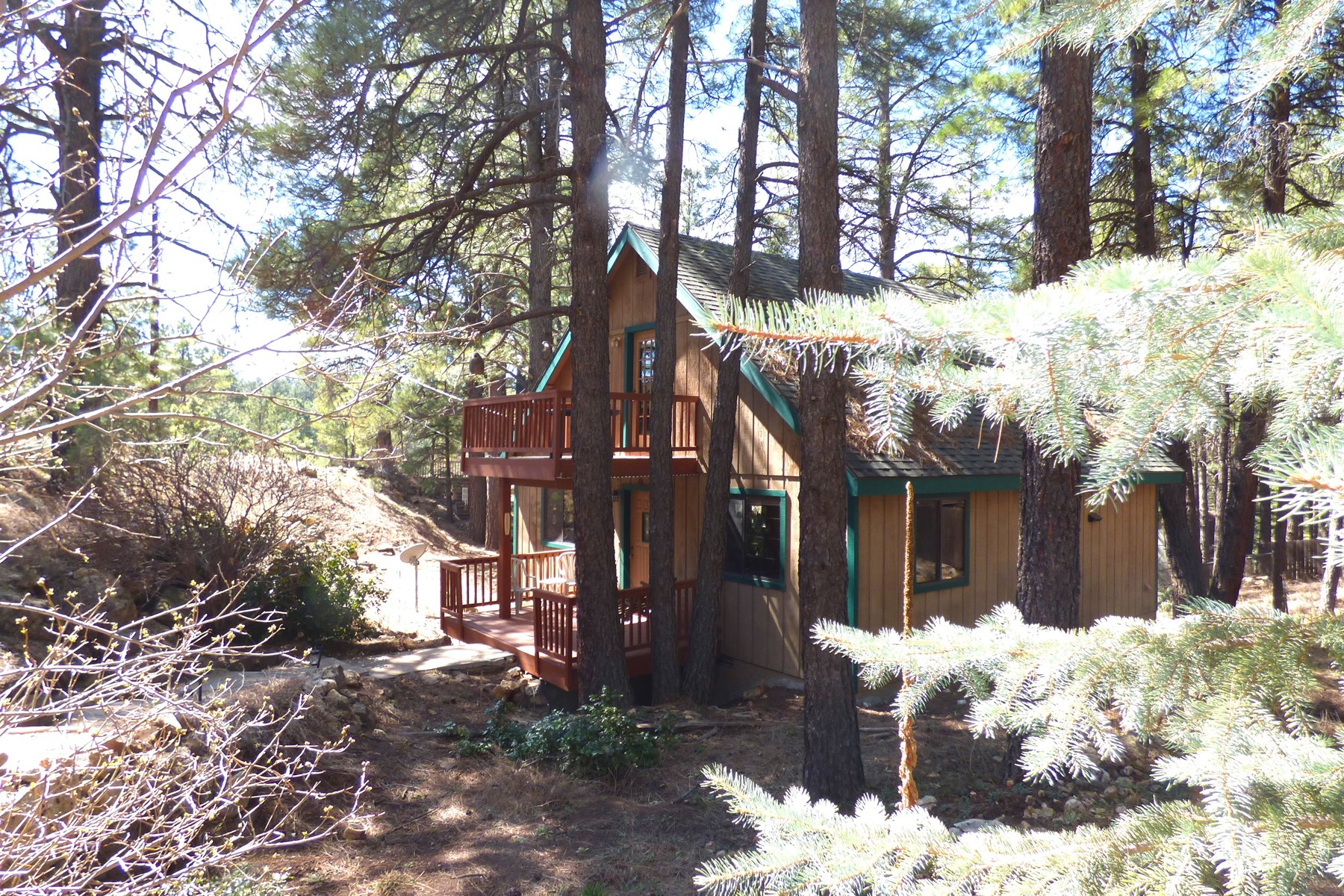 Single Family Home for Sale at Charming home in the pines 2845 Oraibi Flagstaff, Arizona, 86005 United States