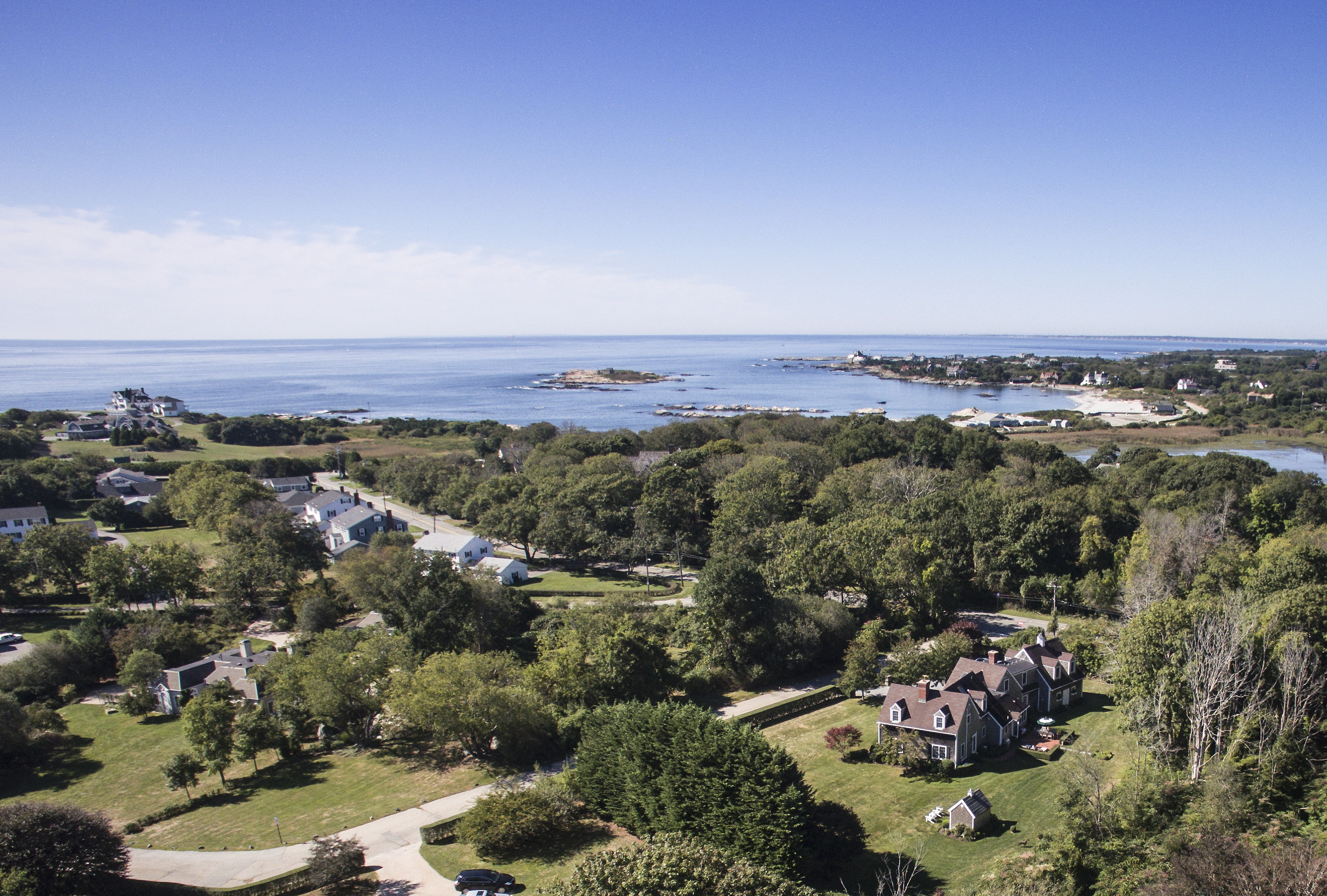Single Family Home for Sale at Camrose Cottage 2 Alpond Drive Newport, Rhode Island 02840 United States