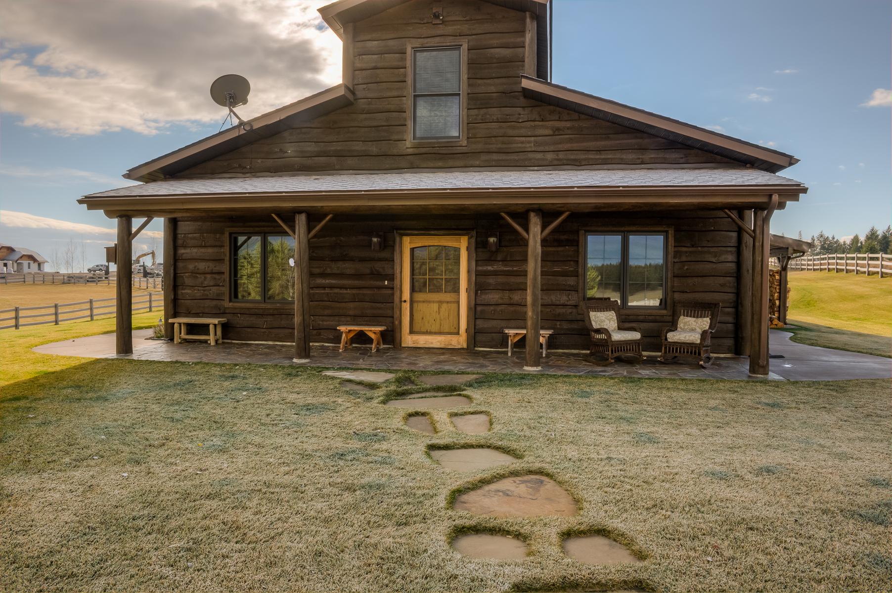 Landgut / Bauernhof / Plantage für Verkauf beim 59 N Pinnacle 59 N Pinnacle Rd Kalispell, Montana 59901 Vereinigte Staaten