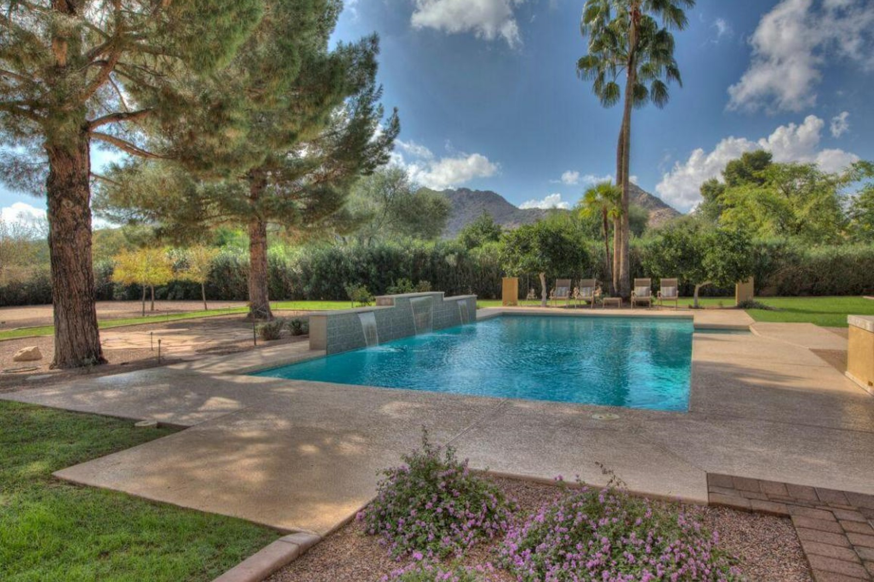sales property at Beautiful one-acre estate set on a private cul-de-sac