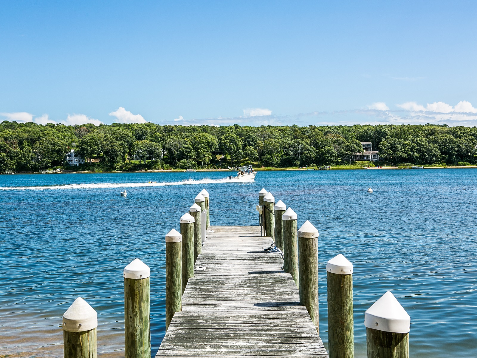 Single Family Home for Sale at Waterfront home with dock on the Lagoon 20 Sunnyside Avenue Vineyard Haven, Massachusetts, 02568 United States