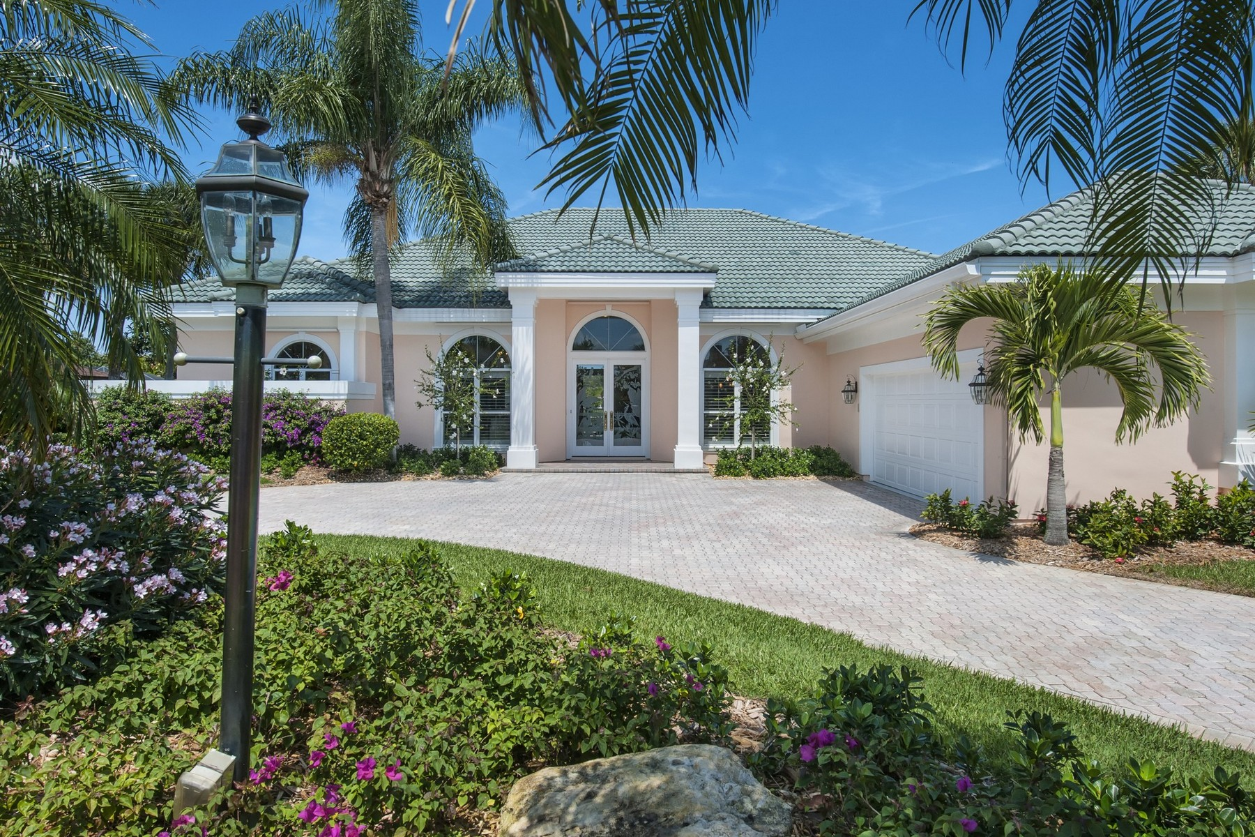 Single Family Home for Sale at Exquisite lakeview pool home in Cache Cay 64 Cache Cay Drive Vero Beach, Florida 32963 United States