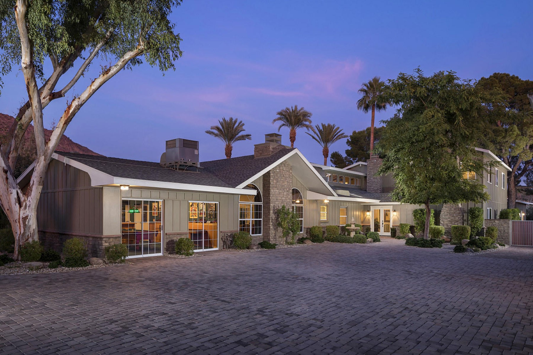 Single Family Home for Sale at Private gated Central Arcadia estate 4413 N Camino Allenada Rd. Phoenix, Arizona, 85018 United States