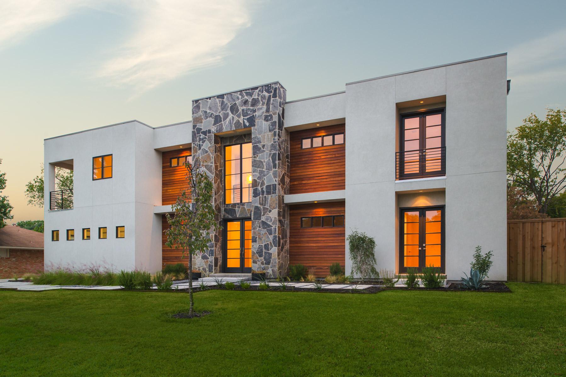 Vivienda unifamiliar por un Venta en Stunning New Modern Construction 5717 Preston Haven Drive Dallas, Texas 75230 Estados Unidos