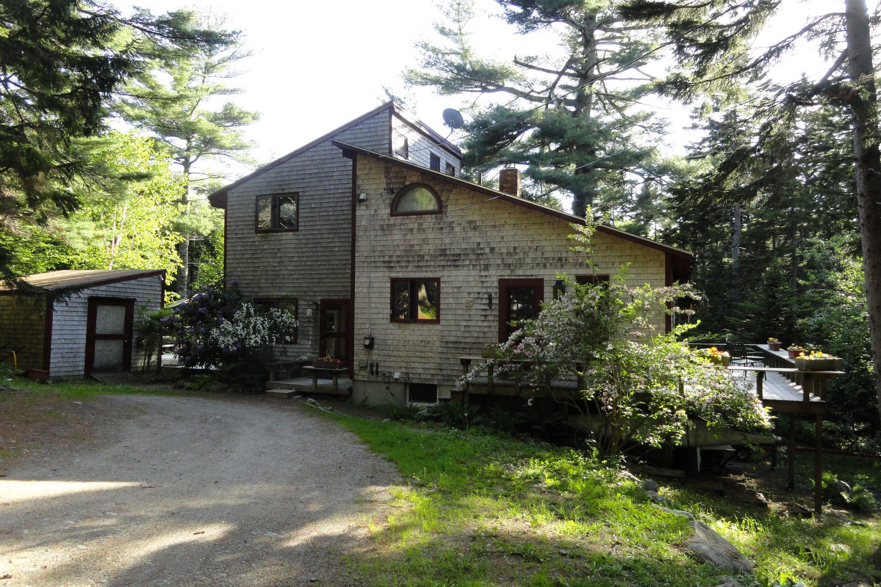 Single Family Home for Sale at Parker Farm Road 51 Parker Farm Road Mount Desert, Maine 04660 United States