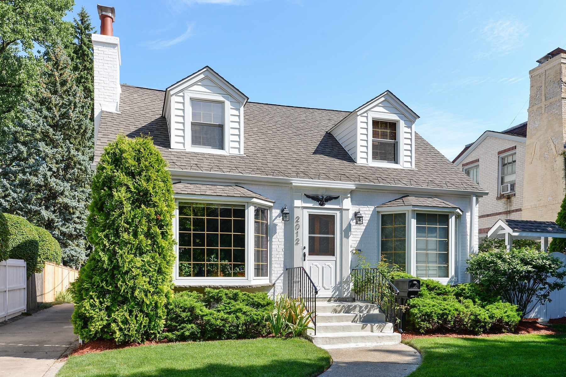 Single Family Home for Sale at Classic Cape Cod With True Storybook Charm 2012 Central Avenue Wilmette, Illinois, 60091 United States
