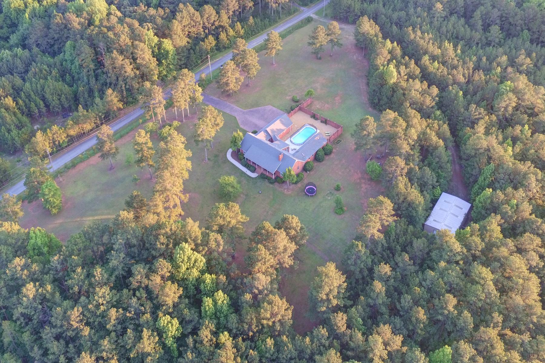 Ferme / Ranch / Plantation pour l Vente à Outstanding Acreage Opportunity 6280 Rutledge Drive NW Acworth, Georgia, 30101 États-Unis