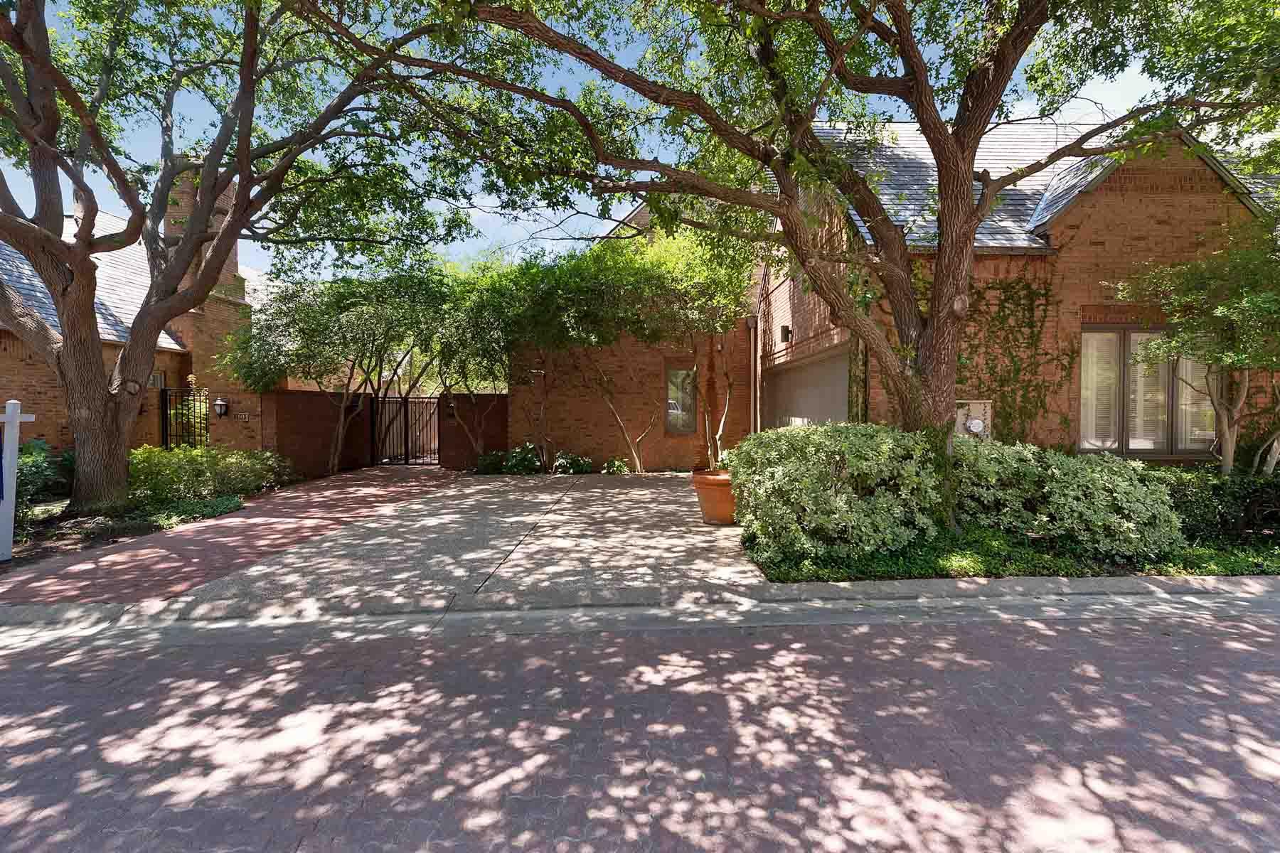 Villa per Vendita alle ore Overton Woods, English 4905 Westbriar Drive Fort Worth, Texas, 76109 Stati Uniti