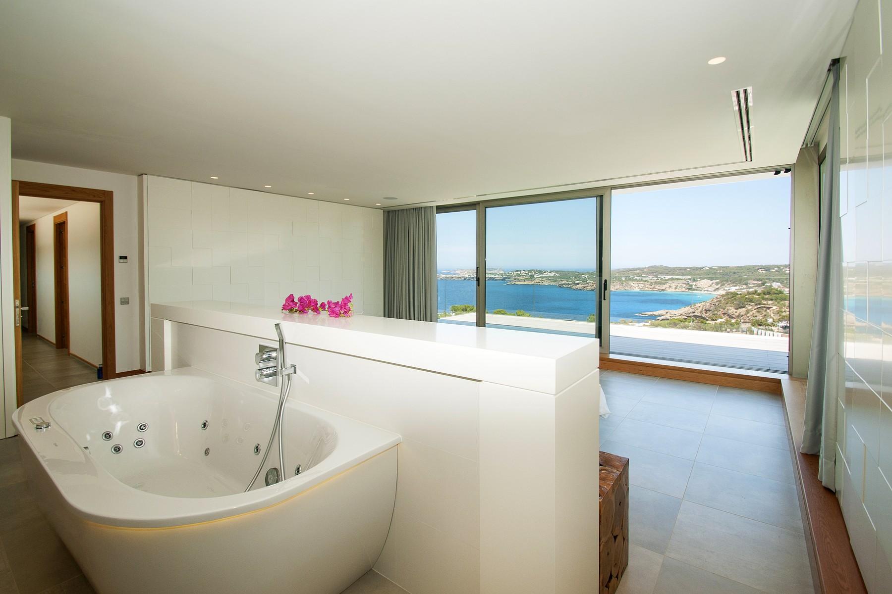 Property Of Contemporary Sea View Villa In Cala Moli