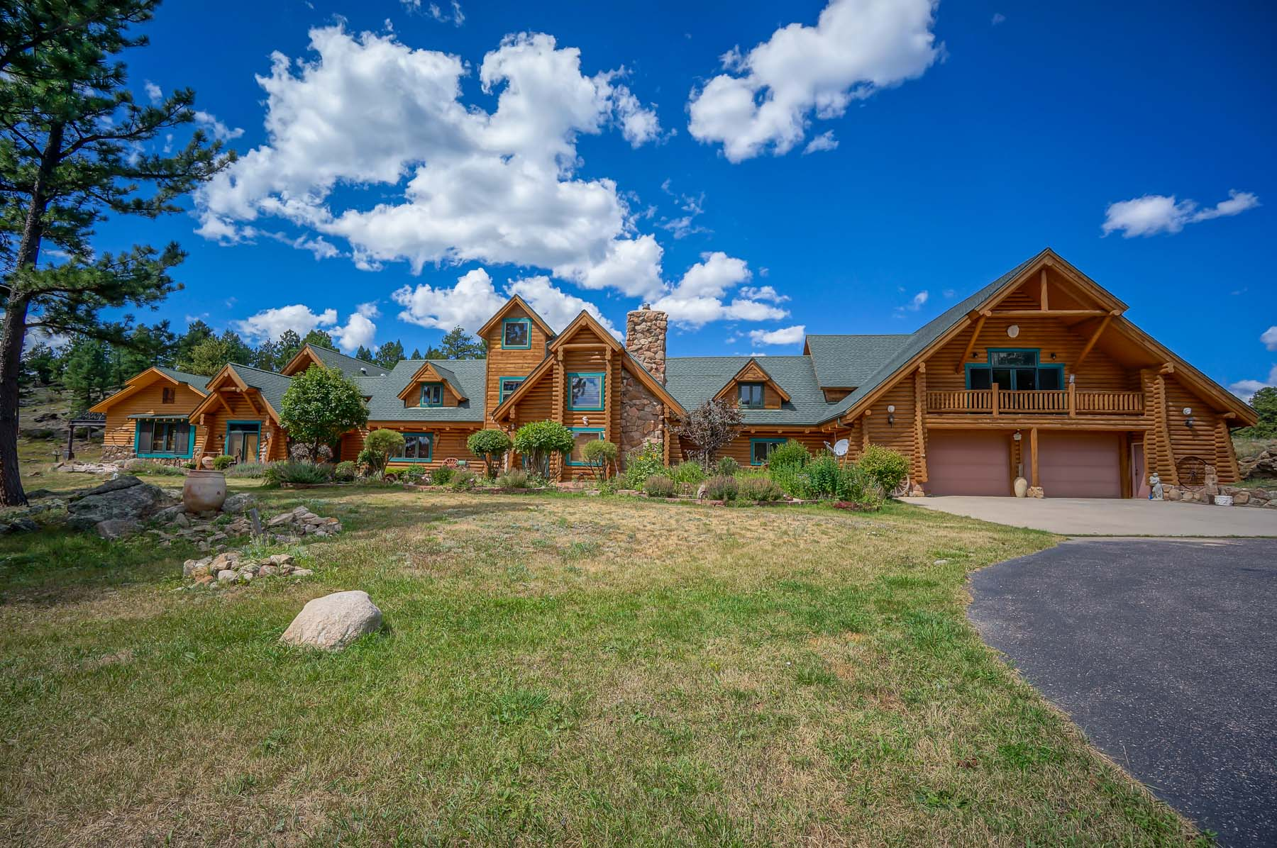 sales property at Mountain Luxury Log Home