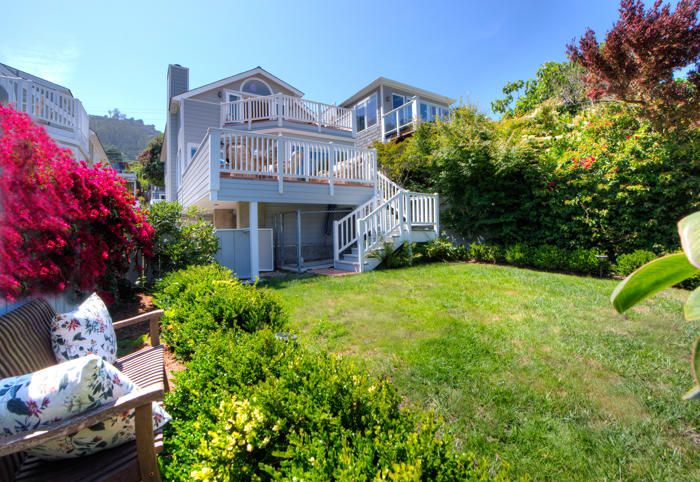 Villa per Vendita alle ore Sophisticated Sausalito Home with San Francisco Views 214 4th Street Sausalito, California, 94965 Stati Uniti