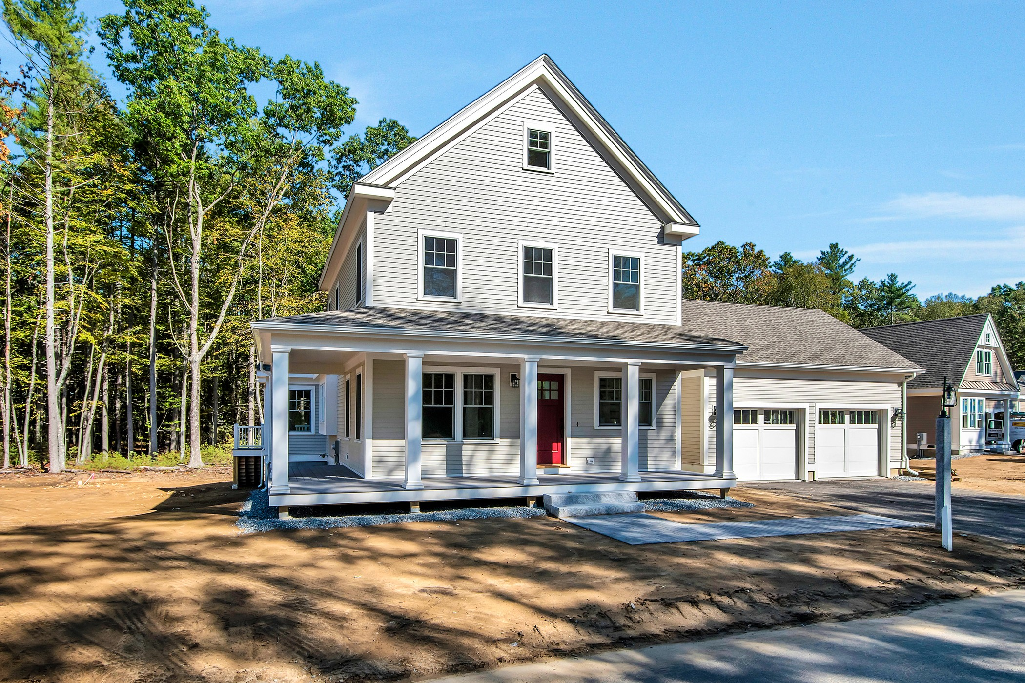 Vivienda unifamiliar por un Venta en Elegant New Construction 19 Black Birch Lane Concord, Massachusetts, 01742 Estados Unidos