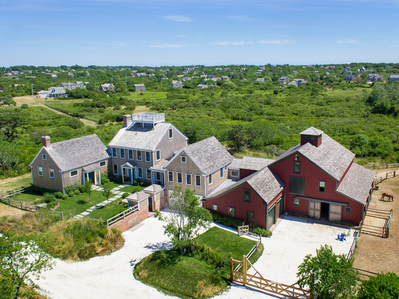 Single Family Home for Sale at Spectacular - Nearly 10 Acre Estate 21 Crooked Lane Nantucket, Massachusetts, 02554 United States