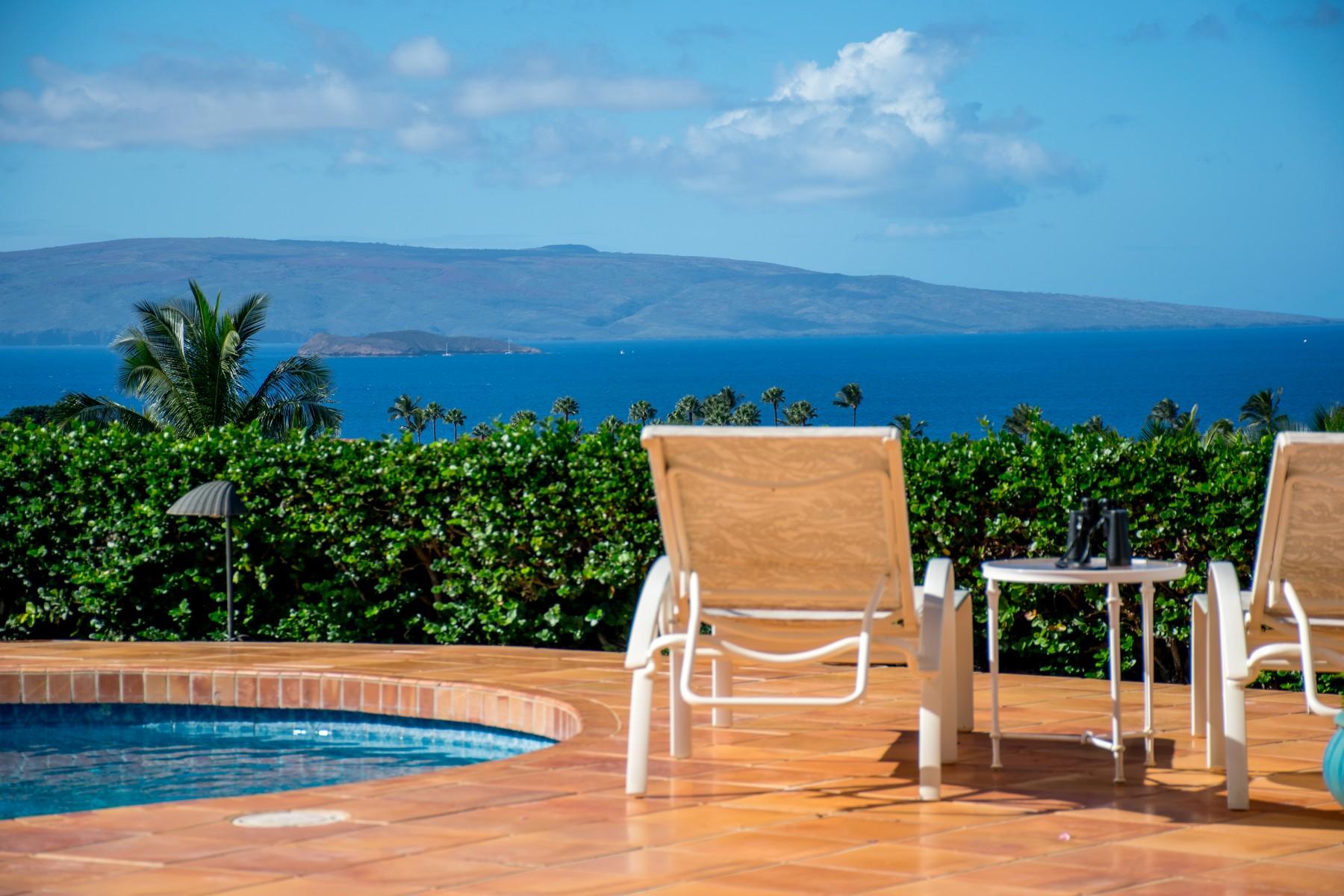 Single Family Home for Sale at Wailea Golf Estates Gem 3922 Waakaula Street Wailea, Hawaii, 96753 United States